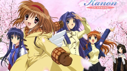 Kanon, hands down. One of my 가장 좋아하는 animes ever ^^
