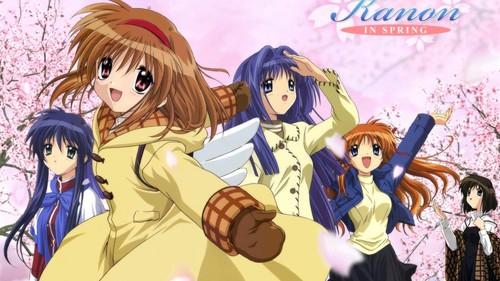 Kanon, hands down. One of my kegemaran animes ever ^^