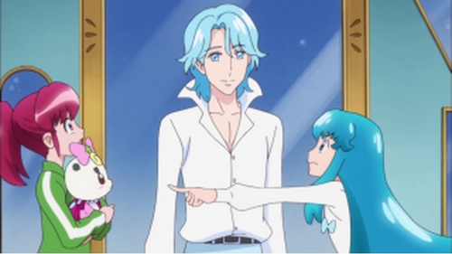 Tamaki Suoh, but I'm also in pag-ibig with Blue from Happiness Charge Pretty Cure. ;n; WHICH SHOULD I CHOOSE????
