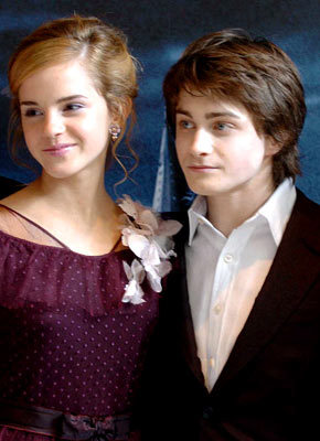 Daniel with Emma Watson ,they shall end up kwa getting married