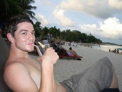 Craig on the pantai