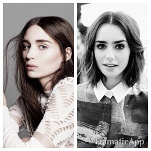 Two words Rooney mara Good actress haves the pale vibe bella does wide face yep her oder lily collins those are my two