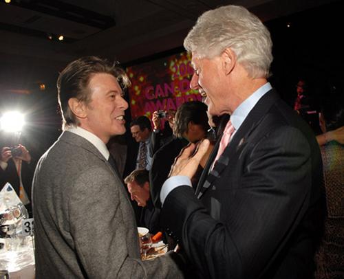 Bowie fan, Bill Clinton XD