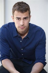 Theo looks yummy in blue<3