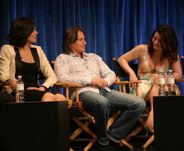 my Bobby with Emilie and Lana and a chair