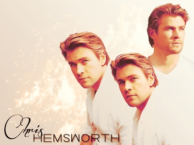 my golden haired Aussie hottie,Chris Hemsworth<3