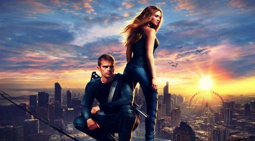 I cinta this wallpaper of Theo and Shailene from Divergent<3