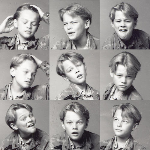 Little Leo with blonde hair <3333333333