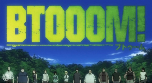 btooom.....i watched till only 2nd epi and stopped it...i think the story will be great but some episodes not suitable for kids!!... so i thought ill watch after im 18 :P