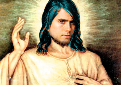the ultimate inspiration,Jesus Christ,who looks a lot like Jared Leto<3