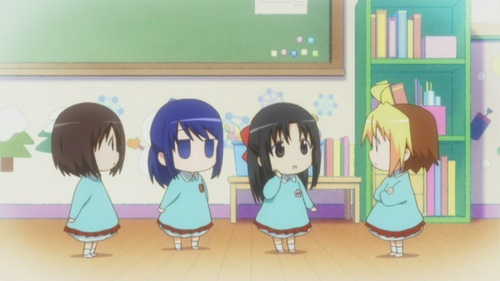 Watched Hanamaru Kindergarten. Seriously, just look at those adorable kiddies ^.^