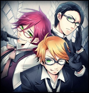 Grell, William, Ronald - Black Butler