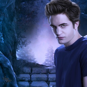 Robert with gorgeous,sexy vampire hair<3