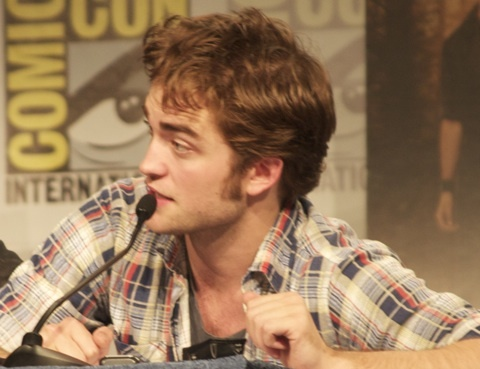 my handsome sweetie talking at the 2009 Comic Con<3