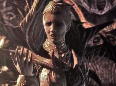 Queen Myrrah, the giống châu chấu, châu chấu, locust Queen from Gears of War 2 and 3.
