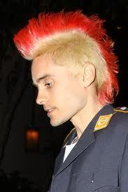 Jared Leto with high hair<3