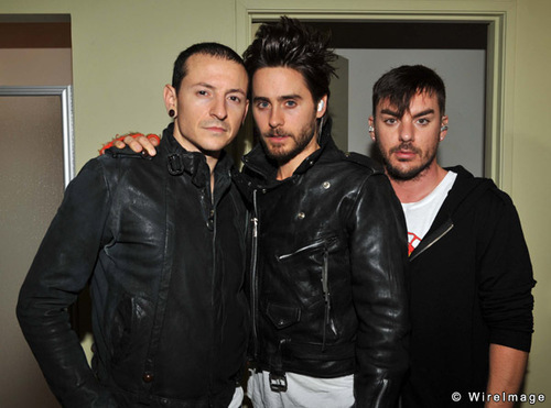Chester from LinkinPark and the fantastic Leto-brothers