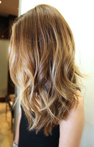 """Dirty blonde, picture below(: (Not an actual picture of me, I just searched """"dirty blonde"""" on google imágenes and uses the one that looked like my hair)"""