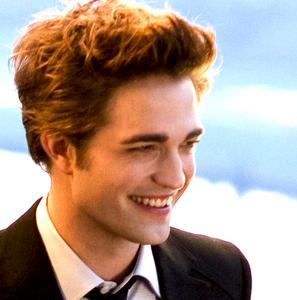 my handsome Robert has beautiful teeth<3