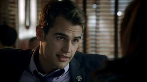 my yummy Theo on a former tv series,Golden Boy,in which he played a police officer<3