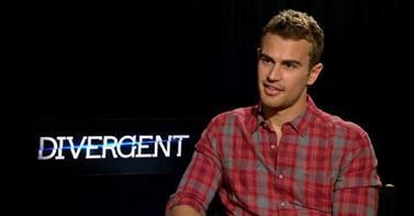 Theo wearing a plaid shirt<3