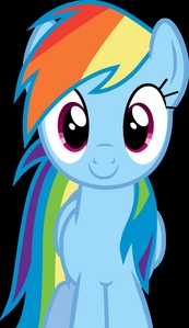 arcobaleno dash. We are a lot alike haha, she's really awesome and the kind of pony I would hang with