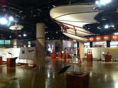A Da Vinci exhibit