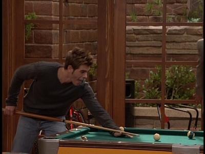 Matthew in BMW playing pool :)