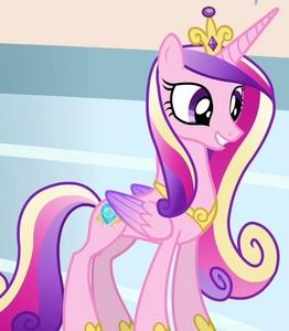 Princess Cadence! She's super sweet and she has a beautiful voice~ ♥︎♥︎♥︎