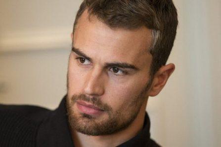 Theo's sexy brown British eyes<3
