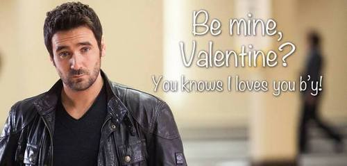"Allan Hawco from ""The Republic of Doyle"" - Valentines dag"