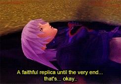 It's Replica Riku (Repliku) Fading Away T_T