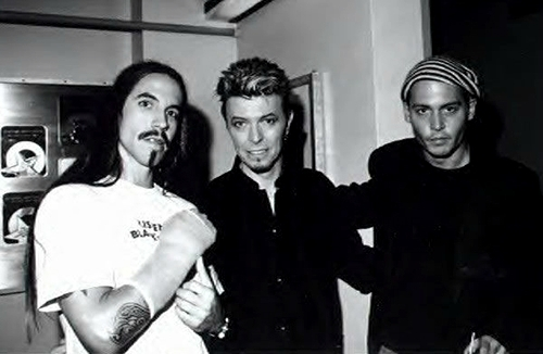 Bow and Johnny Depp