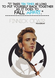 My babe Sam as Finnick One of my preferito Mockingjay Citazioni