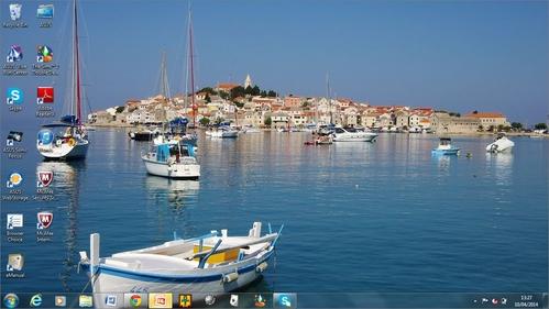 Here's mine, it's of a town called Primošten in Croatia