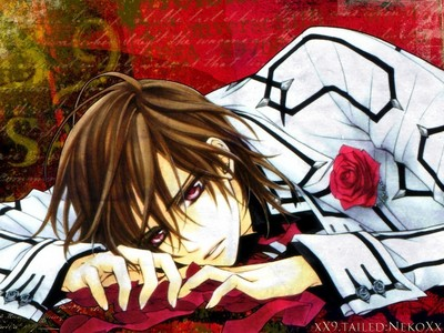 Vampire Knight :D This Is One Of My Fav. Characters xD Kaname!