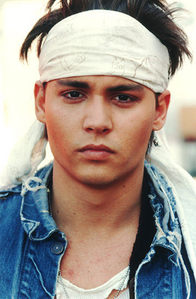 Johnny Depp when he was a little younger xD <33
