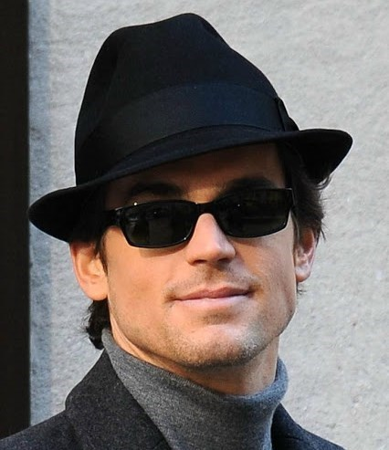 """Matt - a cool cat in the hat (on the set of """"White Collar"""" Season 1) <33333"""