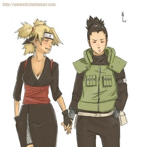 I have so many XO But one of my all time избранное has to be Сикамару and Temari from Наруто ! <333