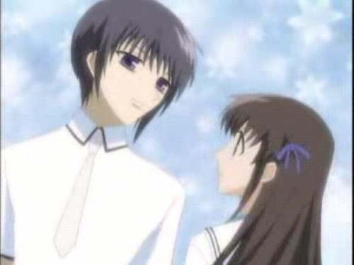 Tohru and Yuki from Fruits Basket!!!!!!