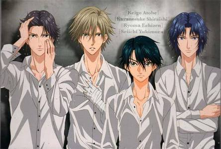Prince of Tennis (Tenisu no Oujisama) Crayon Shin Chan