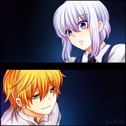 Mine is Oz x Echo! :D They're too cute together! <3 ^^