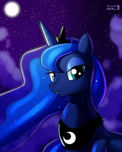 I like her a lot. She would be best poney princess in my opinion. Fluttershy is technically my favori pony, but Luna is SO close to taking the haut, retour au début spot!