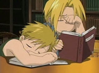 Little Edward and Alphonse Elric. <3