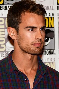 my delicious Theo at a Comic-Con event<3