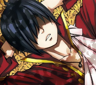 Kidnapped by........Zeref!!!!! Someone save me! \( T A T )/ ( Although I kind of pity him but he is dangerous! )