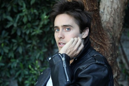 Jared in black leather<3