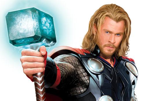 CH as Thor:God of Thunder<3