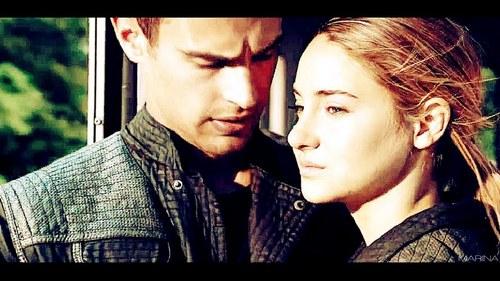 Theo looking at Shailene<3