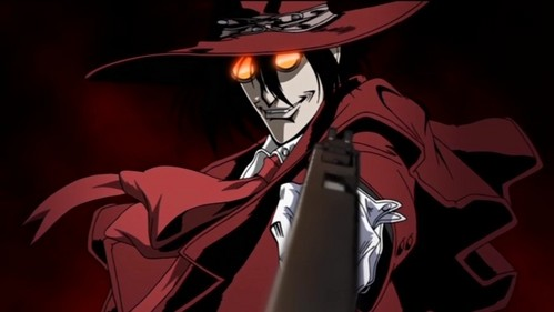 The immortal vampire, Alucard. Hell. F**king. YES!!!